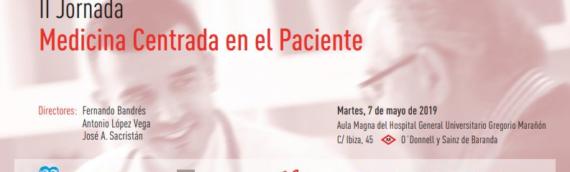 II Jornada «Medicina centrada en el paciente»